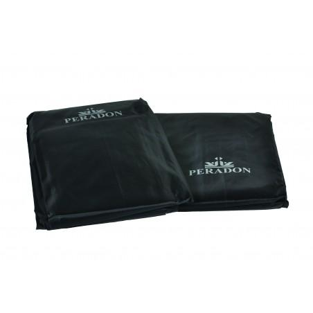 Peradon 12ft Black Fitted Table Cover