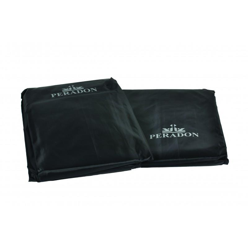 Peradon 7ft Black Fitted Table Cover