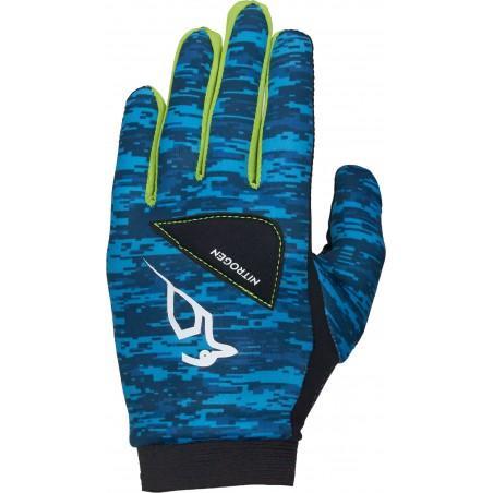 Kookaburra Unisex Nitrogen Hockey Handschuhe Blau Sporthandschuhe Atmungsaktiv