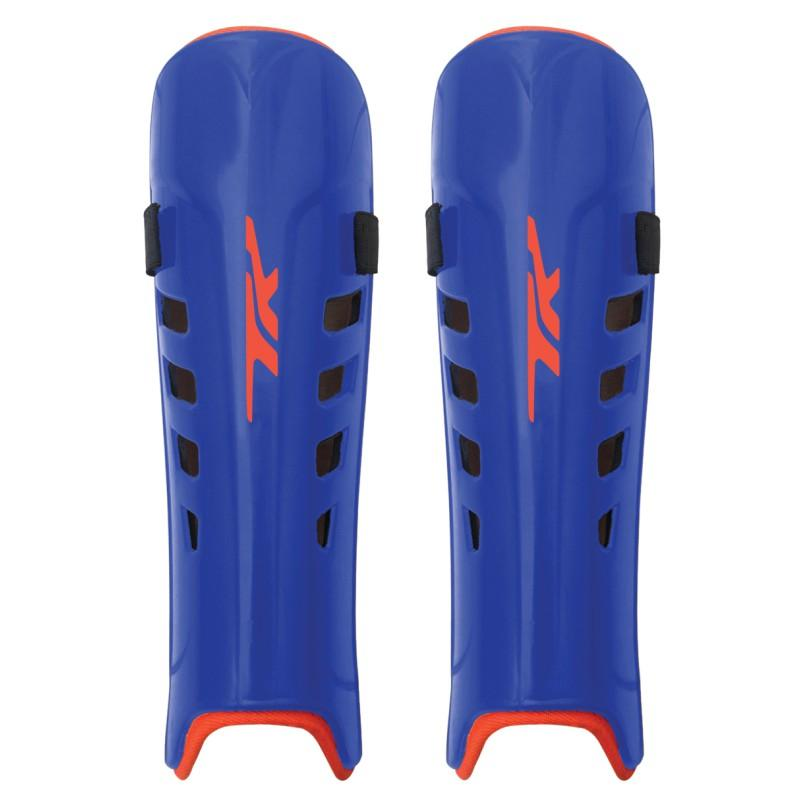 TK ASX 3.5 Junior Hockey Shin Guards - Royal/Orange (2017/18)