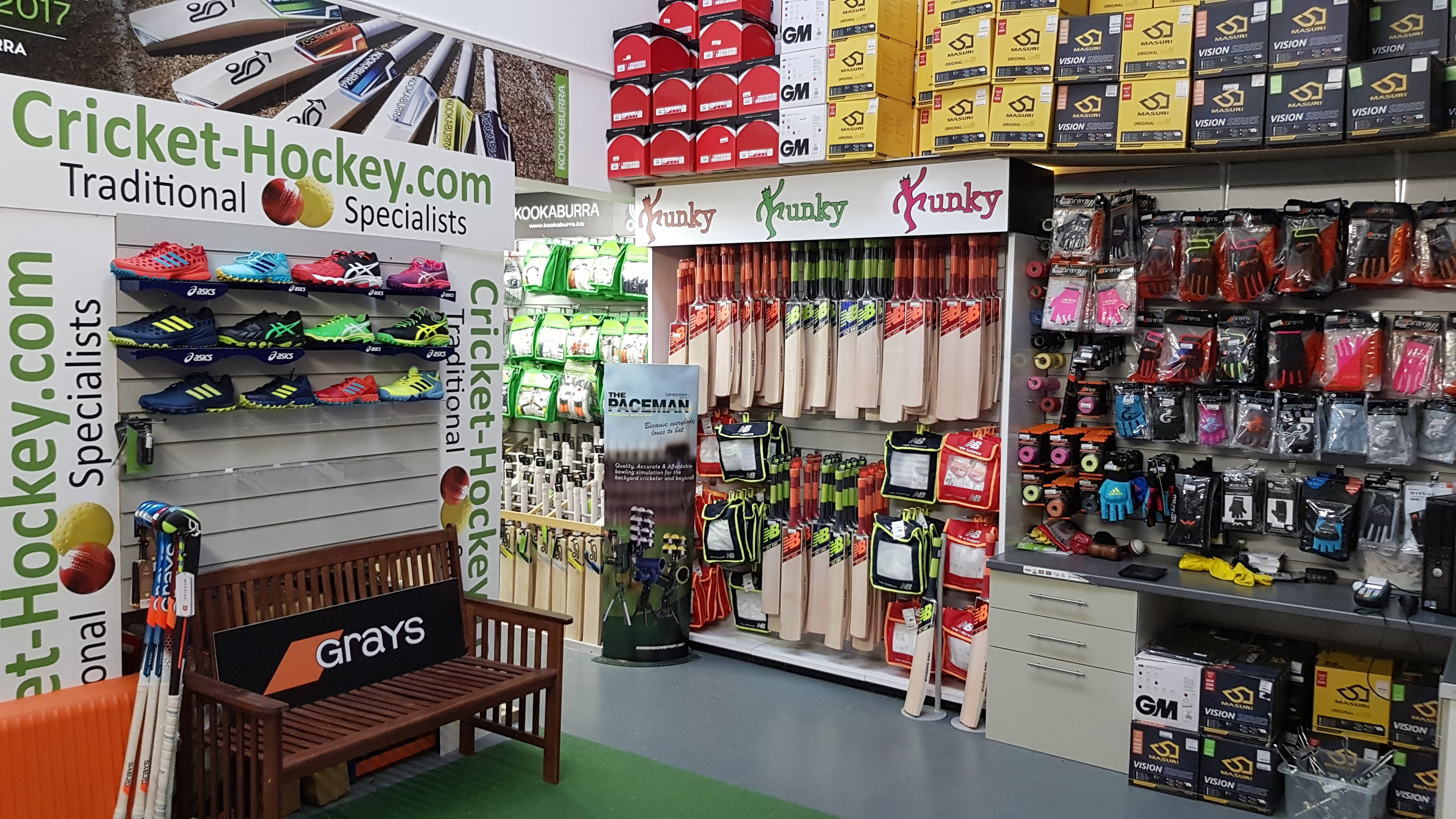 Cricket-Hockey Showroom
