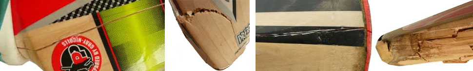 cricket bat splits