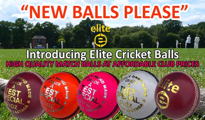 Elite Cricket Balls