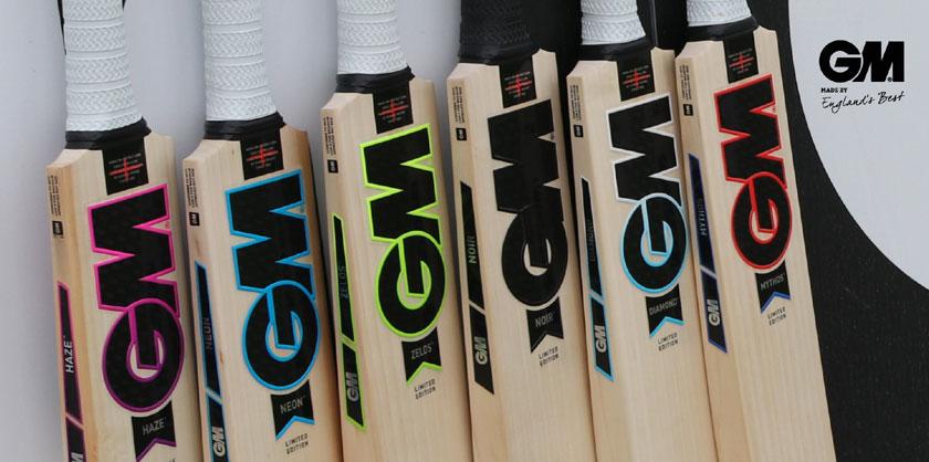 2019 Gunn & Moore Cricket Bats
